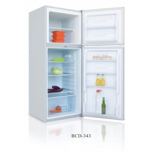 Double door refrigerator BCD-343