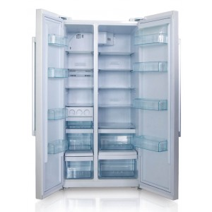 Side by side combination refrigerator BCD-560