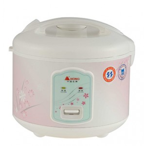 HONG, TRIANGLE 500W deluxe electric rice cooker